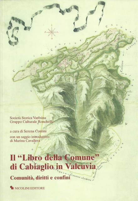 """Il 'Libro della Comune"""" di Cabiaglio in Valcuvia"""