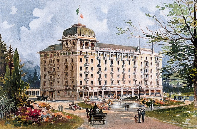 L'architetto Giuseppe Sommaruga a Varese
