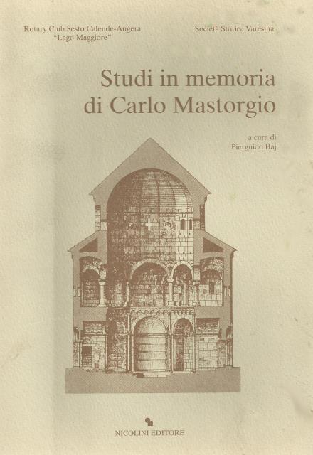 Studi in memoria di Carlo Mastorgio
