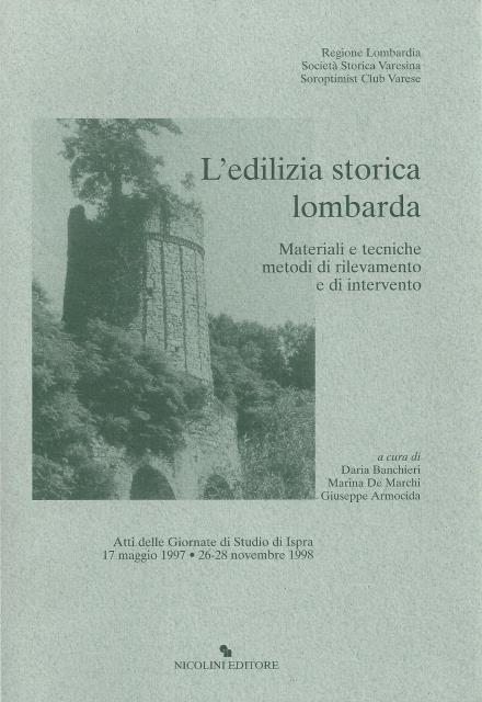 N. 6 – L'edilizia storica lombarda
