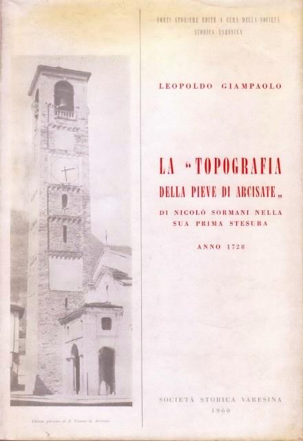 """La """"topografia della pieve di Arcisate"""""""