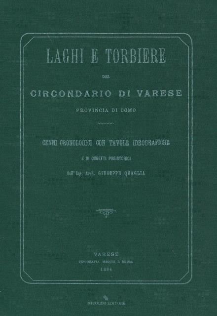 N. 1 – Laghi e torbiere del circondario di Varese